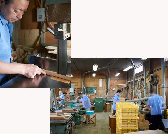 木工機械加工